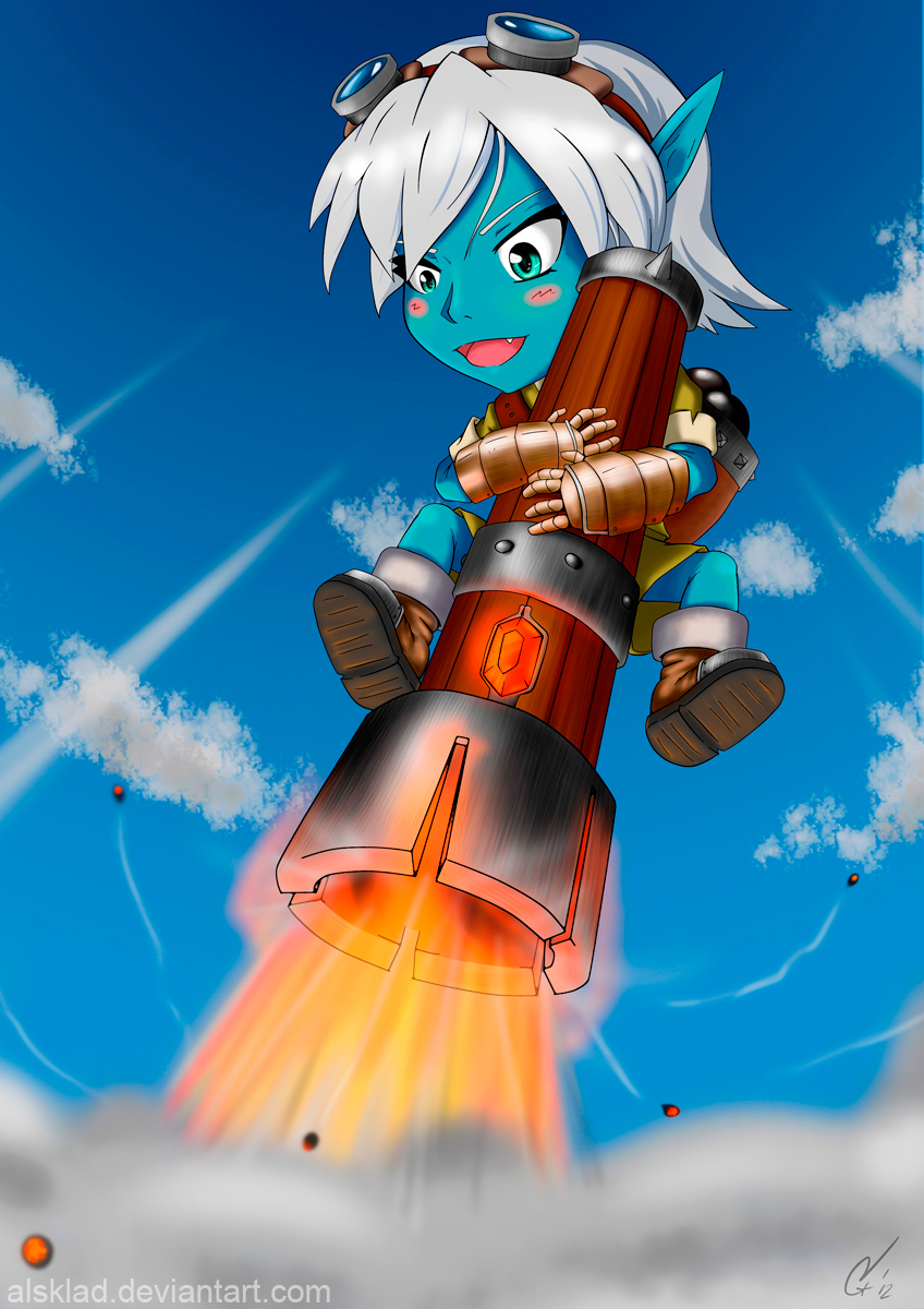 Tristana the Megling Gunner