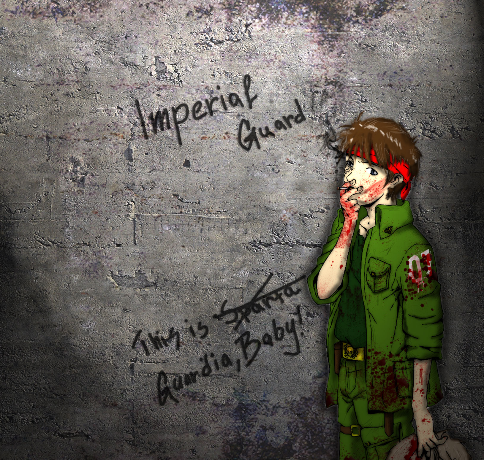 Имперский гвардеец 2