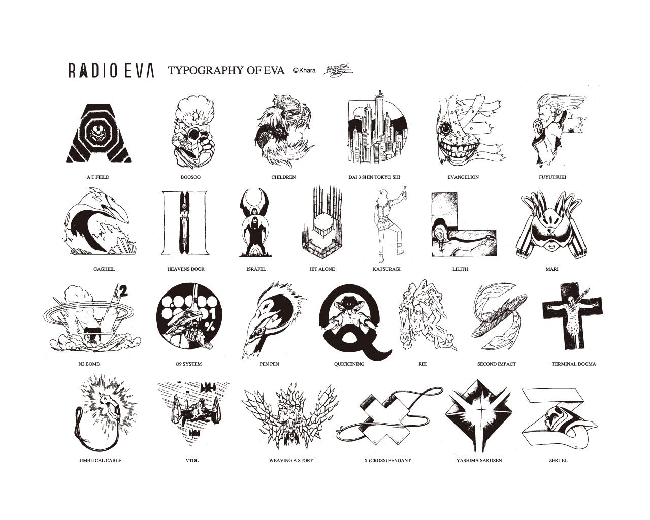 Eva-алфавит