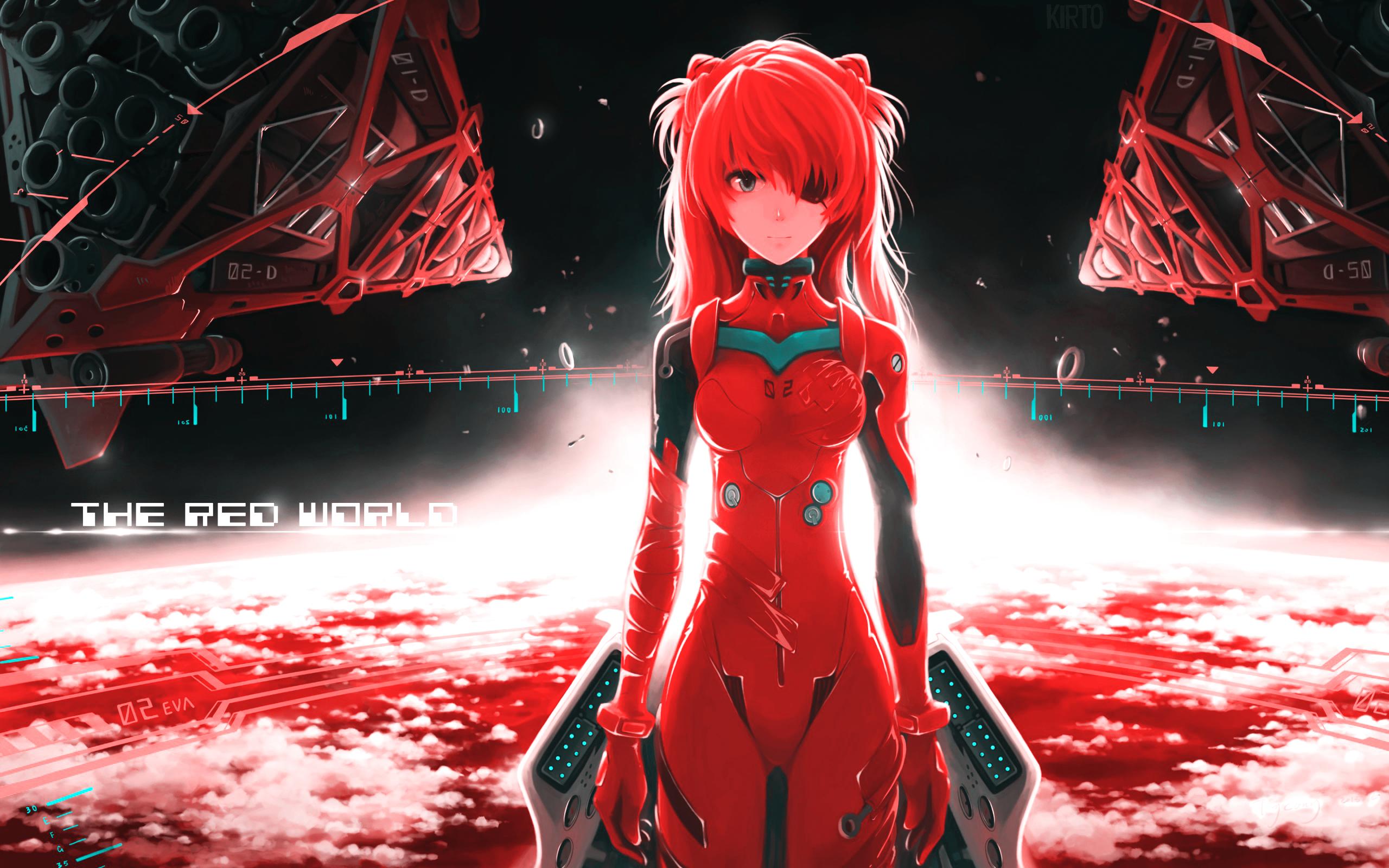 neon genesis evangelion Red asuna By kirtofx d9y7l9j