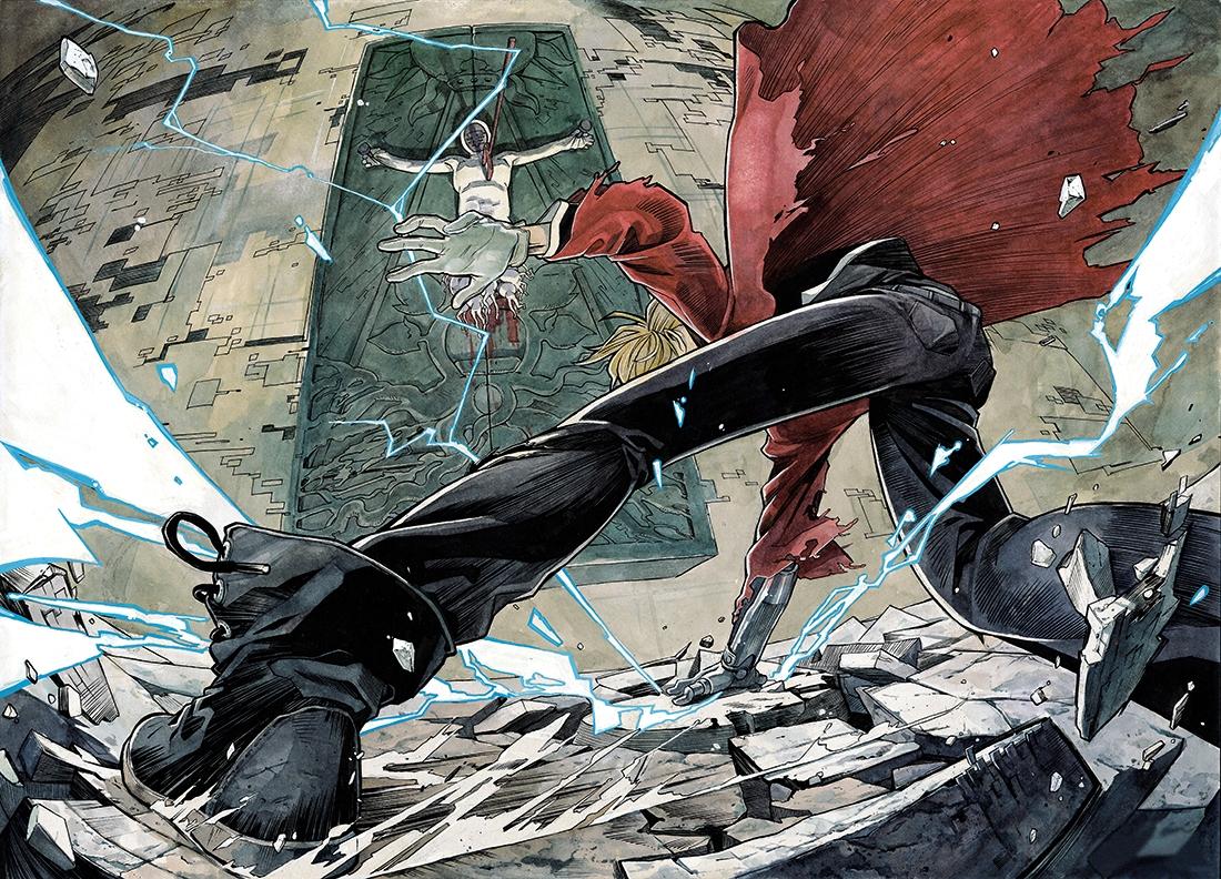Anime Fullmetal Alchemist Edward Elric crossover 2952896