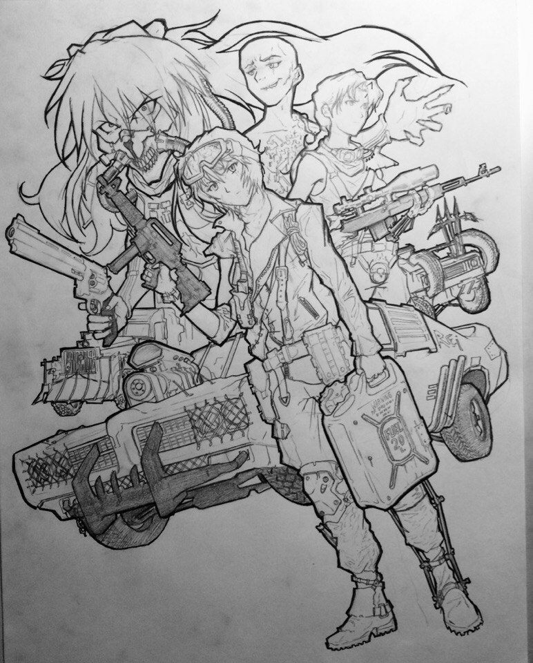 Mad Max By yorickangerfist d91qfod