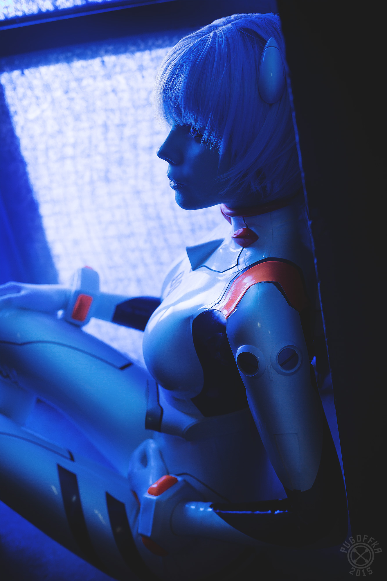 Rei ayanami   neon genesis evangelion By frosel d8qoc6z